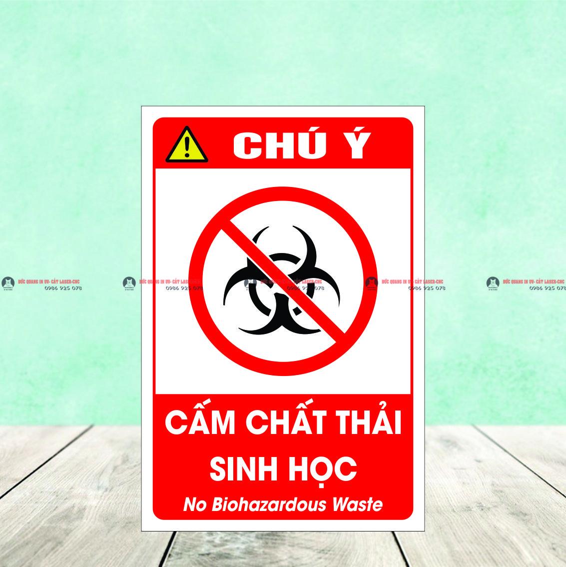 Cấm chất thải sinh học